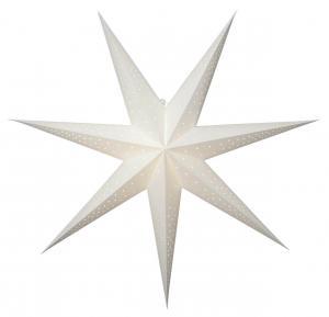 POINT Pappersstjärna 80cm Vit