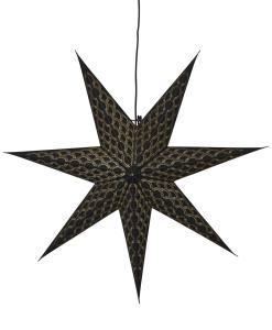 BRODIE Stjärna 60cm Svart
