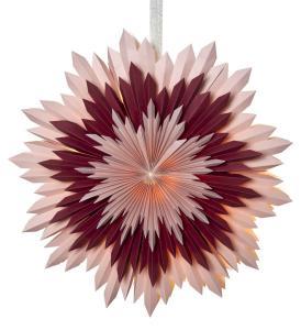 ICE Pappersstjärna 50cm Rosa