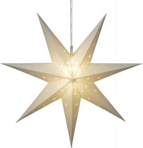 ALICE Stjärna 60cm 12LED IP44 Vit