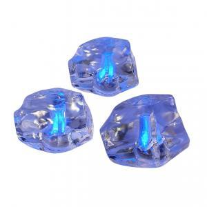 EDILIGHT Ljusstenar 3-Pack 12v Blå 11cm