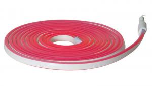 FLATNEON Ljusslang 5m Röd