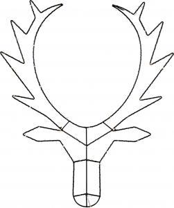 Cupid Renhuvud 70 cm Svart