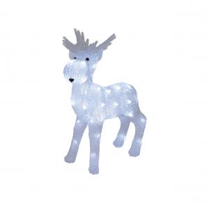 CRYSTALO Dekorationsfigur 48cm 40LED IP44