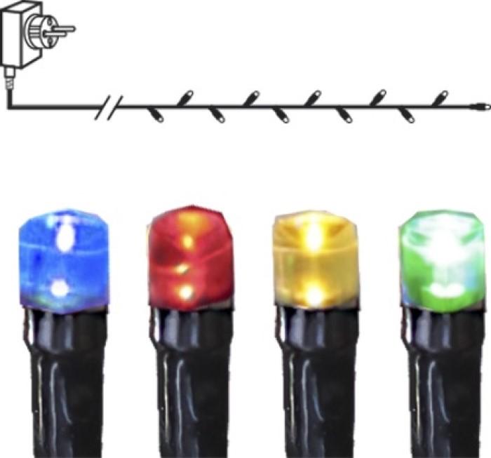 Ljusslinga 3m Serie MicroLED Flerfärgad