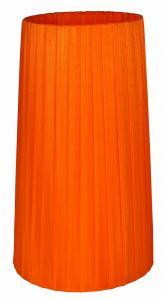 ORIVA Lampskärm Hög Organza 16cm Orange