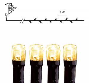 SERIE LED Ljusslinga 25,2m 360LED IP44 Extra varmvit Svart