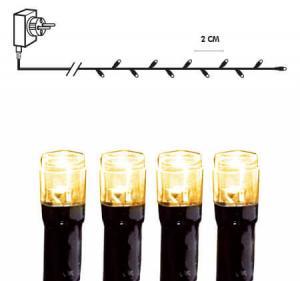 SERIE LED Ljusslinga 16m 800LED IP44 Extra varmvit Svart