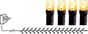 SERIE LED Ljusslinga 180LED 3,6m Extra varmvit IP44
