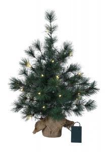 FURU Dekorationsträd 60cm 20LED Grön