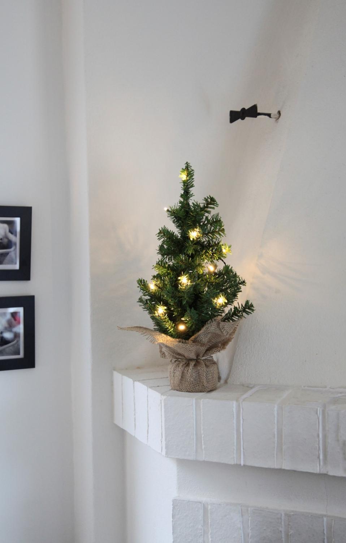 julgransbelysning liten gran