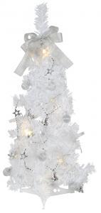Gran Minitri Dekorationsträd 60cm Vit