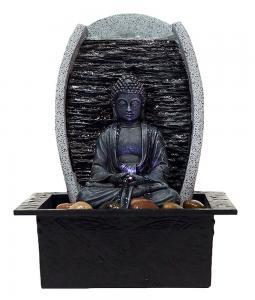 Inomhusfontän PT Buddha 27cm LED