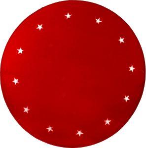 GRANNE Julgransmatta 1m 12LED Röd