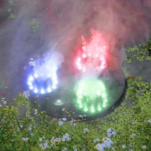 Rökmaskin Flytande 3 utblås RGB LED