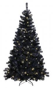 Julgran Ottawa med 260LED 210cm Svart