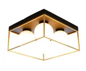 ASTRO Plafond Liten 28cm Svart/Guld/Opalvit