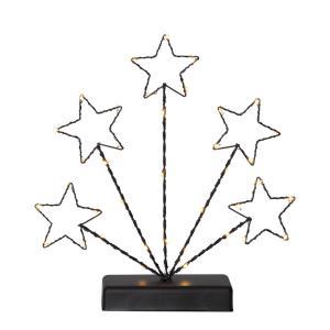 STARY Ljusstake 27,5cm 38LED Svart