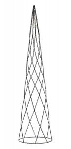 HELIX Kon 60cm Svart