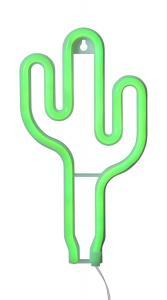 NEONLIGHT Kaktus Dekoration 26,5cm Grön