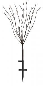 HAMAR Dekoration Träd 100cm 70L LED Brun