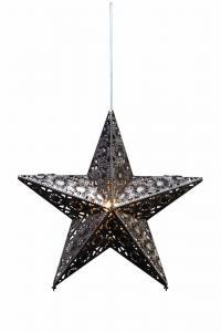 EUFORIA Stjärna 44cm Antiksilver Metall