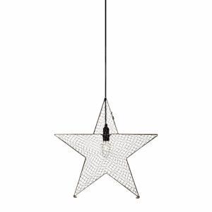 BYNÄS Metallnät stjärnpendel 40 cm