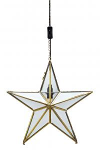 ANSGAR Pendel Stjärna 40CM Guld