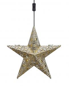 EUFORIA Pendel Stjärna Guld