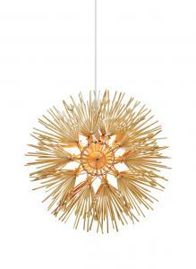 ANNA Dekoration Halmkrans LED