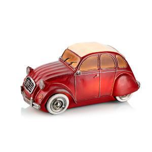 NOSTALGI Bordsdekor C3 Car Röd