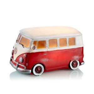 NOSTALGI Bordsdekoration WW Bus Röd