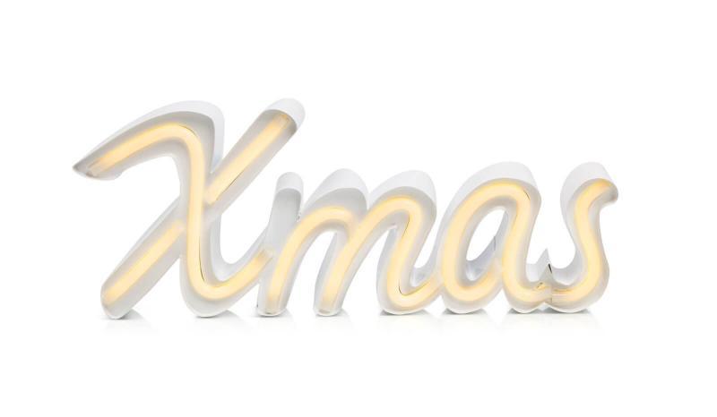 AUSTIN XMAS Bordsdekoration 40cm Vit/Varmvit