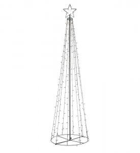 ISBERG Ljuskon Utomnusdekoration LED 250cm Svart IP44