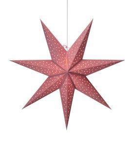CLARA Stjärna Hängande 75cm Rosa