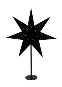 CLARA Bordsstjärna 65cm Svart