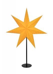 CLARA Bordsstjärna 65cm Saffran/Svart