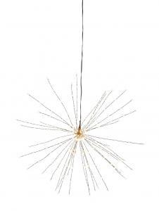 Firework hängande dekoration 50cm svart