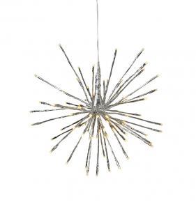 Firework Hängande dekoration 28cm Silver