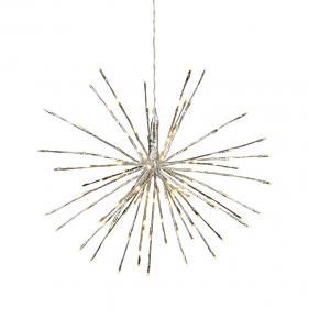 Firework Hängande dekoration 37cm Silver