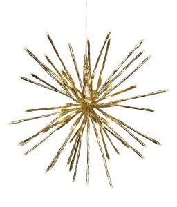 Firework Hängande dekoration 38cm Guld