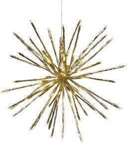 Firework Hängande dekoration 56cm Guld