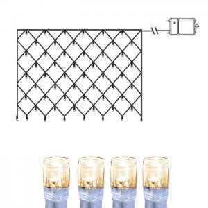 Ljusnät Dura String LED Transparent