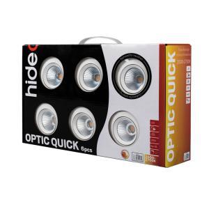 OPTIC QUICK ISO Downlight 6-Pack Tune 2000-3000K Vit
