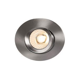 COMFORT G3 Tilt Downlight 2700K Borstad stål