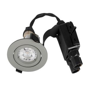 COMFORT Quick Downlight IP23 95mm Grå