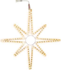 CONNECTSTAR Siluett Stjärna 75cm 144LED IP44