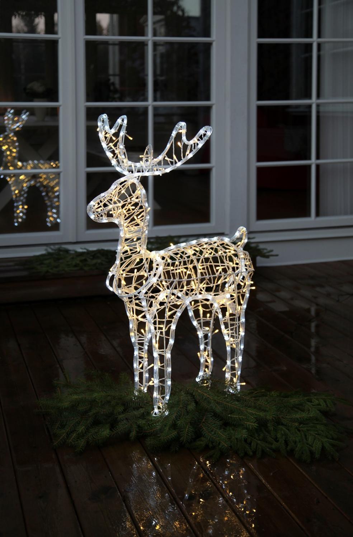 julbock med belysning