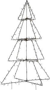 FOLDY Dekorationsträd Utomhus 200LED 125cm Svart IP44