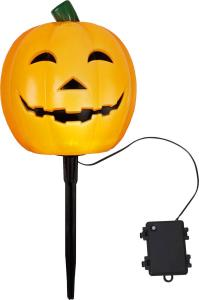 HALLOWEEN Utomhusdekoration 18cm IP44 Orange